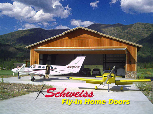 Airpark Photos Airplane Hangar Doors For Fly In Home