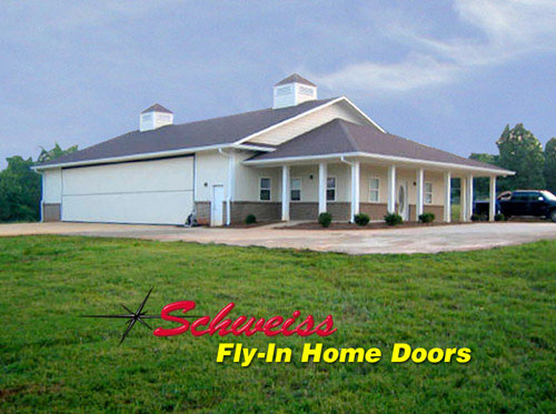 Does anyone have pics links or plans for hangar homes for Hangar home plans