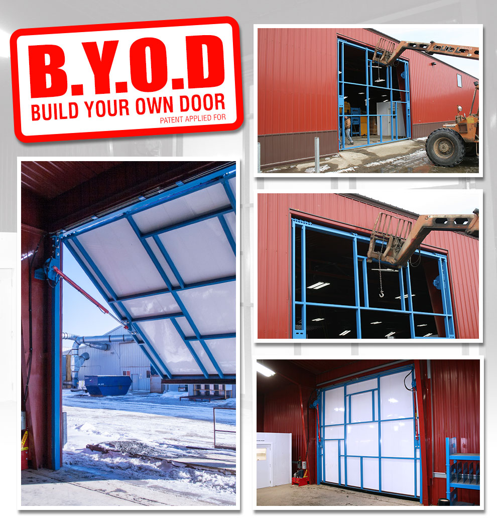 Shop Door Build Your Own Door Diy Welding Plans