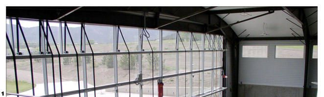 All Glass Hangar Door