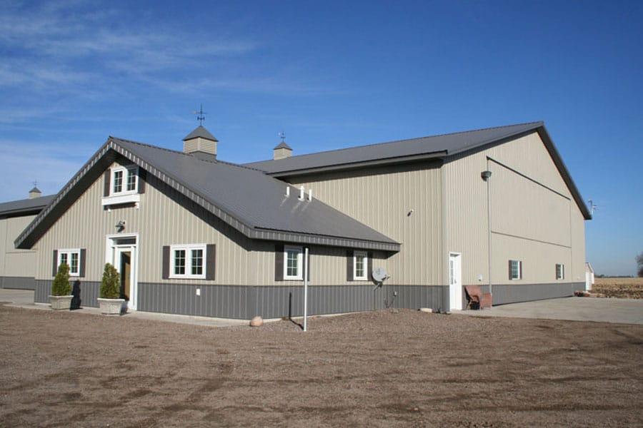 Machine Shed Modern Minnesota Farm Building Schweiss