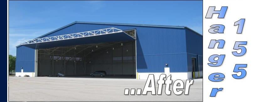 Hangar 155 Chippewa County Airport Schweiss Must See Photos